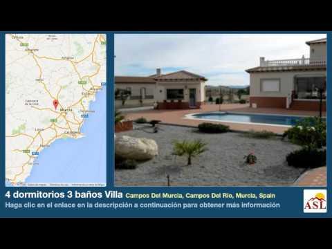 4 dormitorios 3 baños Villa se Vende en Campos Del Murcia, Campos Del Rio, Murcia, Spain
