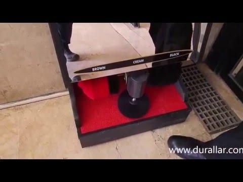 Fotoselli Ayakkabı Cila Makinası - Paslanmaz Çelik - ACM-103