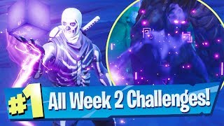 Fortnite SEASON 6 WEEK 2 Challenges Guide (Corrupted Area Locations)