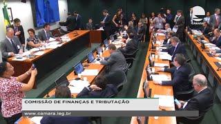 Finanças e Tributação - Discussão e votação de propostas - None