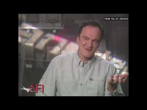 Video trailer för JACKIE BROWN director Quentin Tarantino on writing dialogue - AFI Movie Club