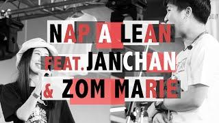 NAP A LEAN ft.JANCHAN - ZOM MARIE Cat T-Shirt 6