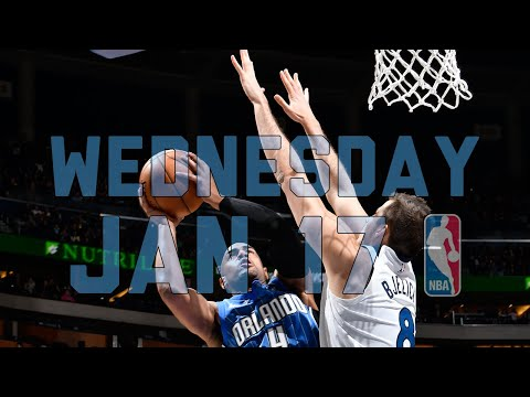 NBA Daily Show: Jan. 17 – The Starters