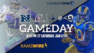 Dallas Cowboys Vs. Los Angeles Rams PLAYOFFS LIVE STREAM Reaction