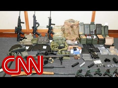 Coast Guard officer charged with planning mass attack
