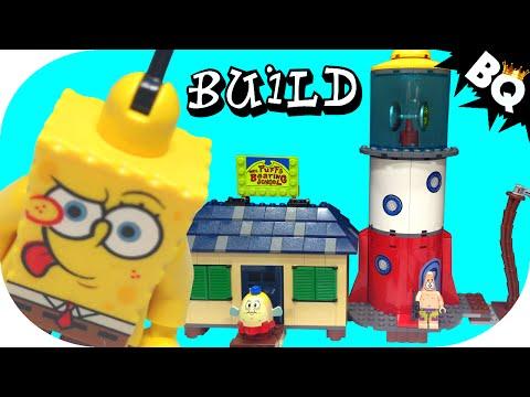 Vidéo LEGO Bob l'éponge 4982 : L'ecole de navigation de Mrs Puff