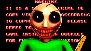 ANTI PIRACY SCREEN AND MEASURES IN BALDI'S BASICS - PIRACY IS NO EDUCATION