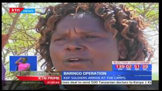 Uneasy calm has returned to parts of Baringo North following the arrival of KDF