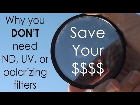 You (probably) DON'T Need Polarizing, UV, or ND Filters: Simulate them for FREE!