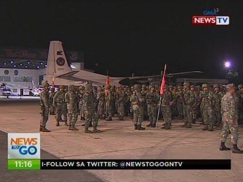 NTG: 400 Phl Marines, ipinadalang dagdag-pwersa sa Marawi