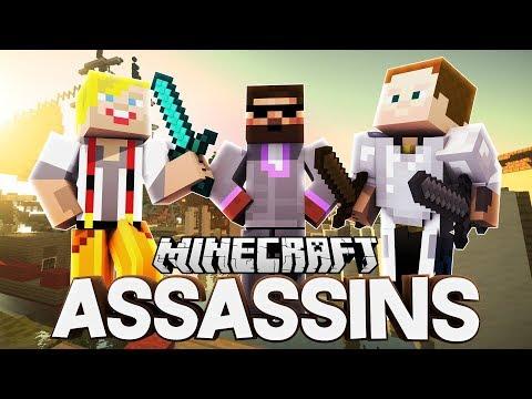 VŠICHNI JSME ZABIJÁCI! | Minecraft Assassins | Pedro, Jirka a Gejmr
