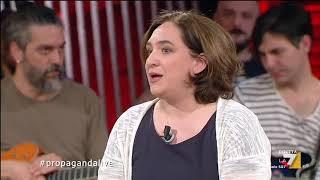 La alcaldesa Ada Colau ospite in TV su La 7