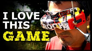 I LOVE THIS GAME | DRONE FPV FREESTYLE