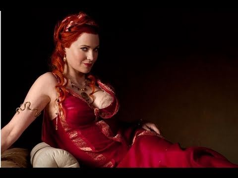 Spartacus - Lucy Lawless Comic-Con Interview