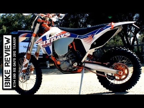 KTM 500 Six Days 2012 teaser