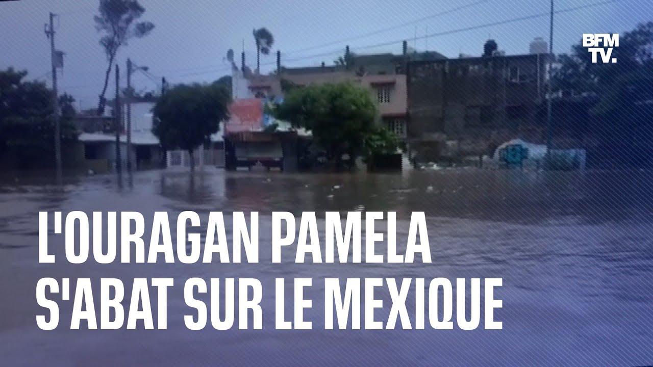 L'ouragan Pamela a touché la côte mexicaine