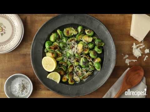 Side Dish Recipes - How to Make Parmesan Brussels Sprouts