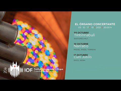 20a edició del Festival Internacional d'Orgue a la Catedral de Mallorca