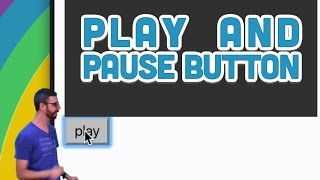 17.2: Play and Pause Button - p5.js Sound Tutorial