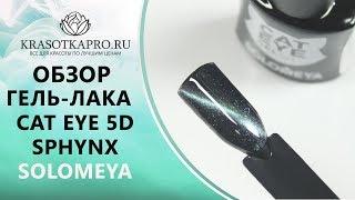 Обзор Гель-лак Cat Eye 5D, Sphynx, Solomeya
