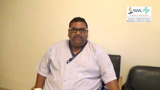 Hear Mr. Vijay Kumar Baba end his struggle with obesity