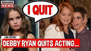 Debby Ryan Officially Quits After Cameron Boyce Death...