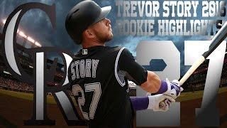 Trevor Story   Colorado Rockies   2016 Rookie Highlights Mix ᴴᴰ