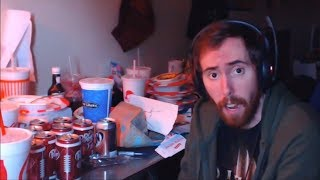 Asmongold Cleans His Desk On Stream (MOLD WARNING)