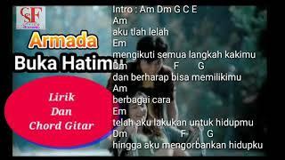 Buka Hatimu - Armada - Kord(chord) Gitar