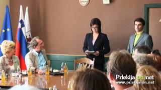 Obisk tujih diplomatov, konzula in članov SILE v Ljutomeru