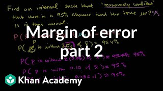Margin of Error 2