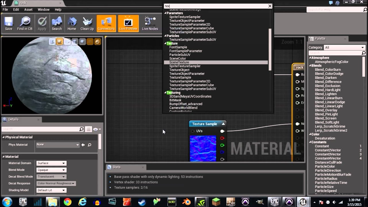 PTV Unreal Engine 4 Material Tutorial 5 (UV Mapping)