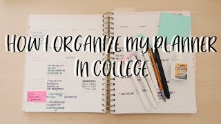 HOW I ORGANIZE MY PLANNER | Day Designer Planner