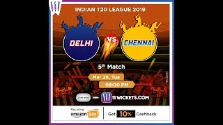 Indian T20 League 2019 | Rajasthan vs Punjab | 11Wickets