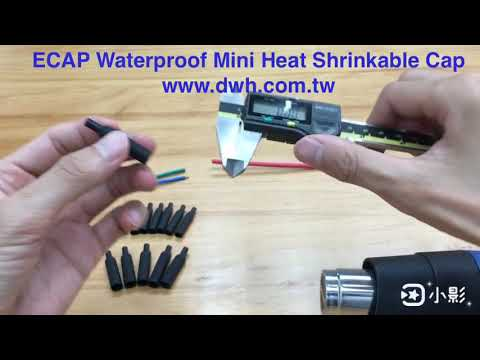 ECAP Waterproof Mini Heat Shrinkable Cap
