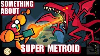 Something About Super Metroid ANIMATED SPEEDRUN (Loud Sound & Flashing Light Warning) 👩🚀🤜🐉