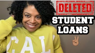 How To Remove Student Loans From Your Credit Report | Credit Repair Hacks |Student Loans | LifeWithC