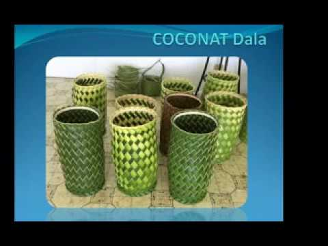 How To Make A Coconut Palm Leaf Anythings Always Bartaman Action