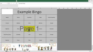 Free Bingo Card Generator for Excel