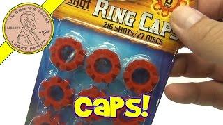 Cap Gun Ring Caps & Toy 8-Shot Plastic 007 Cap Gun with Orange Safety Tip, 2011 Imperial
