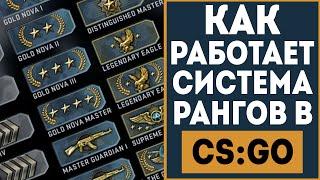 Как работает система рангов в CS:GO? (Новая система)