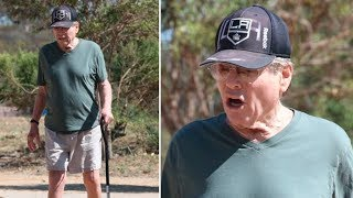 A Very Frail Ryan O'Neal Barely Recognizable After Battling Illness