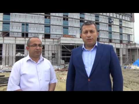 Lapseki'de Yeni Hastane Bitme Aşamasında