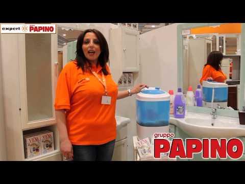 Lavatrice portatile da Expert Gruppo Papino