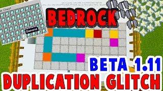 Minecraft Bedrock Top 3 Duplication Glitches for Minecraft 1 11 0