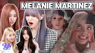 K-Pop Girl Trainee React To 'Melanie Martinez' for the first time