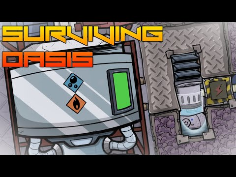 Tiny Liquid Oxygen System! Oxygen Not Included ep34