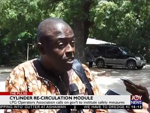 Cylinder Re-circulation Module - The Pulse on JoyNews (20-6-18)