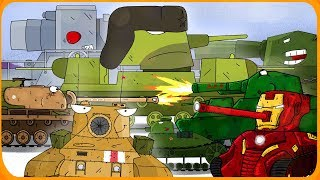 Top 15 Cartoons about tanks
