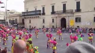 preview picture of video 'The Adonelle Dancers ~ Carnival 2015 ~ Valletta'